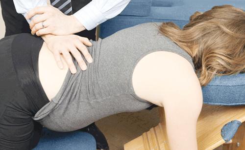 Chiropractic adjustment during pregnancy