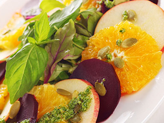 Beet, Orange and Apple Salad recipe