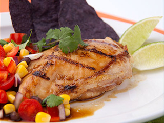 Lime Chicken Picante recipe