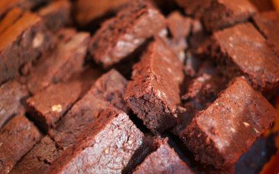 4th of July Black Bean Brownies